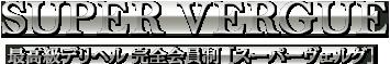高級デリヘル会員制 東京発【スーパーヴェルグ(ベルグ) - VERGUE】